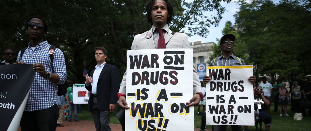 war on drugs rally